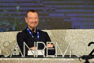 Sanremo 2020, la conferenza stampa: Rula Jebreal porta Roger Waters al Festival