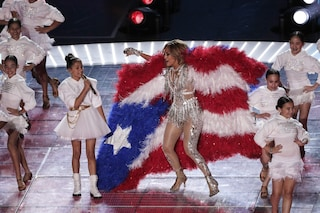 Chi è Emme, la figlia 11enne di Jennifer Lopez che ha incantato il pubblico del Super Bowl