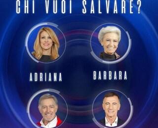 GFVip 2020: Cucuzza è il primo nominato, a seguire Barbara Alberti, Adriana Volpe, Fabio Testi