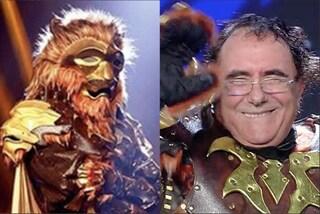 Il Cantante Mascherato 2020, eliminato Al Bano è il Leone
