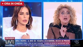 """La mamma di Favoloso contro Nina Moric: """"Hai un cantiere in viso, io ero una suocera modello per te"""""""