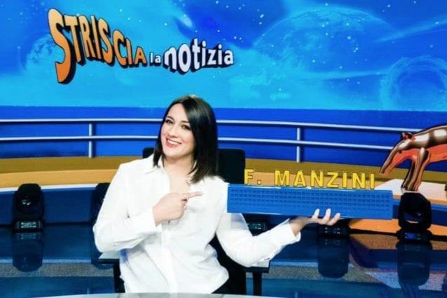 Lazio, la figlia di Manzini debutta alla conduzione di Striscia la notizia