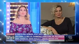 """Victoria Pennington contro Pasquale Laricchia: """"Mi ha dato così tanti pugni che non respiravo più"""""""