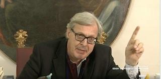 Vittorio Sgarbi ha chiesto scusa a Barbara D'Urso, domenica torna a Mediaset