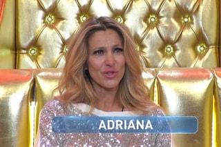 """Adriana Volpe in lacrime: """"Prima di Giselle, ho perso un bambino. Il baratro, mi sentivo svuotata"""""""