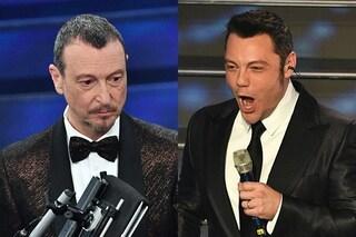 """Tiziano Ferro: """"Anche stasera in scaletta dopo mezzanotte"""", è ancora polemica con Amadeus"""