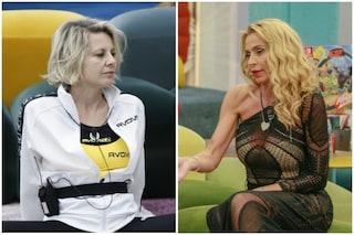 """GF Vip, Antonella Elia si isola dal gruppo e non si scusa con Valeria Marini: """"Voglio sopravvivere"""""""
