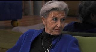 Grande Fratello Vip: Barbara Alberti bestemmia, poi si copre la bocca