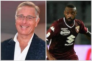 """""""Il calcio, che volgarità"""", Paolo Bonolis scherza per la gaffe del telecronista Sky su Nkoulou"""