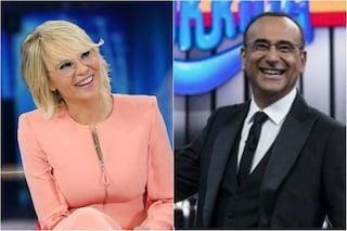 Ascolti tv, La corrida meglio di Amici: Carlo Conti si aggiudica la prima contro Maria De Filippi