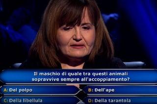 'Chi vuol essere milionario?' Maria Cristina De Gregorio perde, il padre fu campione di Rischiatutto
