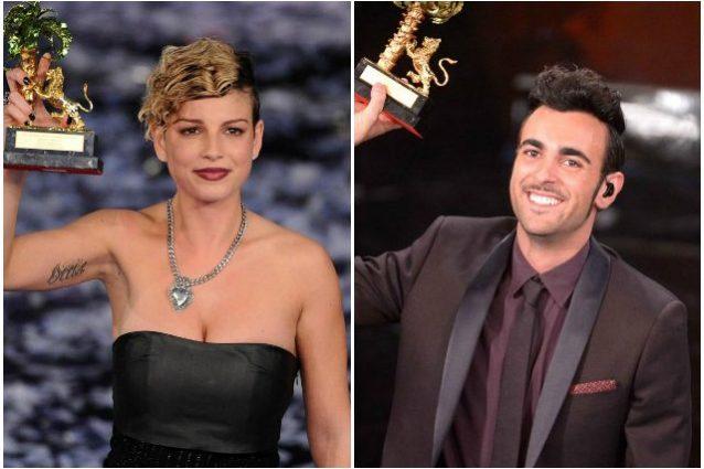 Emma Marrone vince Sanremo nel 2012, Marco Mengoni le succede l'anno dopo.