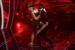 """Il tango incerto di Georgina Rodriguez a Sanremo 2020, """"Era la prima volta"""" ma danza fin da piccola"""