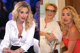 """Il dolore di Valeria Marini: """"Depressa e disperata perché mia madre Gianna non mi parla da mesi"""""""