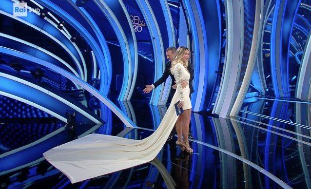 Diletta Leotta alla finale di Sanremo 2020