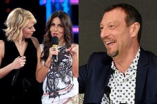 """Maria De Filippi: """"Condurrei il Festival di Sanremo con Sabrina Ferilli e Amadeus"""""""