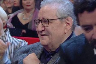 """L'omaggio a Sanremo 2020 commuove Vincenzo Mollica, Benigni: """"Non sarà il tuo ultimo Festival"""""""
