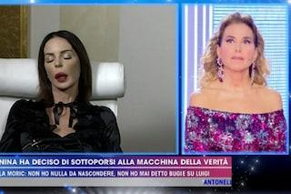 """Nina Moric poco lucida alla macchina della verità, Favoloso: """"Controllate se ha preso qualcosa"""""""