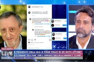 """PietroDelle Piane si scusa con Barbara D'Urso e chiarisce: """"Mai detto di essere figlio di Carlo"""""""