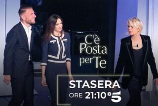 La quarta puntata di C'è posta per te, Ciro Immobile e Jessica Melena in studio