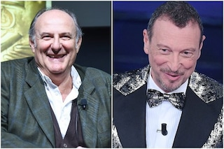 """Gerry Scotti a Sanremo? Amadeus: """"Le porte sono aperte per gli amici"""""""