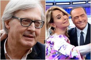 """Sgarbi si scusa con la D'Urso: """"Berlusconi mi parlò bene di lei, travisato termine raccomandazione"""""""