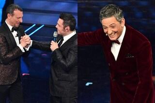 """Sanremo 2020 finisce a tarda notte, Tiziano Ferro: """"Amadeus è l'una, hashtag #FiorelloStatteZitto"""""""