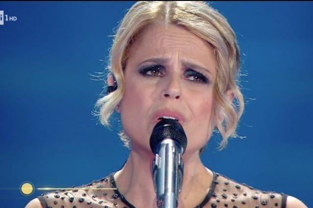 "Tosca canta ""Ho amato tutto"" a Sanremo 2020"