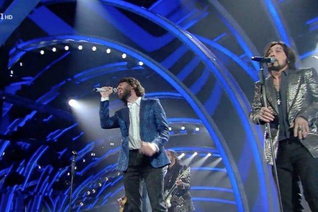 Le Vibrazioni e Canova alla terza serata di Sanremo 2020