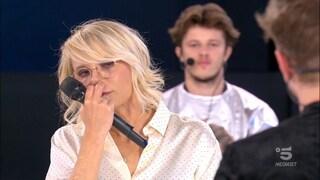 Amici, eliminato quarta puntata: Jacopo Ottonello esce e commuove Maria De Filippi