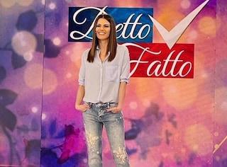 Bianca Guaccero torna in onda dall'11 maggio, riprende Detto Fatto dopo lo stop per la pandemia