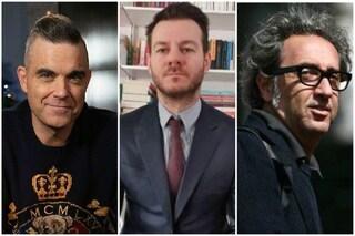E poi c'è Cattelan-Alive: Paolo Sorrentino e Robbie Williams ospiti da casa della terza puntata