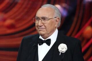 """Pippo Baudo: """"Indispensabile l'informazione in tv ma servirebbe un po' di intrattenimento"""""""