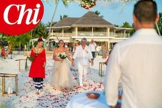 Paolo Rossi e la moglie Federica Cappelletti, secondo 'sì' è alle Maldive dieci anni dopo il primo