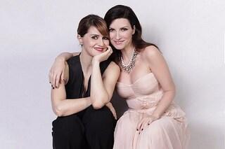 Laura Pausini e Paola Cortellesi in diretta su Instagram a 4 anni dal loro show in tv