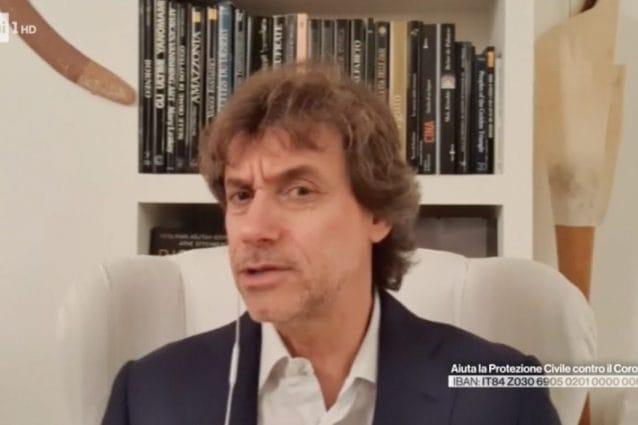 Alberto Angela ringrazia gli italiani: