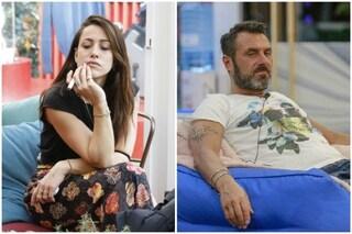"""GFVip 2020, Teresanna deride Sossio: """"Stai sempre in mutande e non fai niente tutto il giorno"""""""