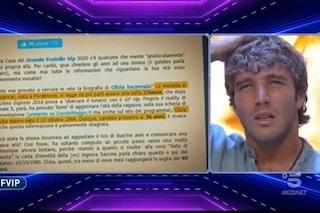 """Quanti anni ha Clizia Incorvaia? Paolo Ciavarro al GF Vip: """"Avevo capito 35, 40 sarebbe miracoloso"""""""