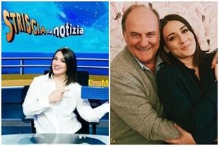 """Francesca Manzini conduce 'Striscia la notizia' a fianco di Gerry Scotti: """"Confusa ma felice"""""""