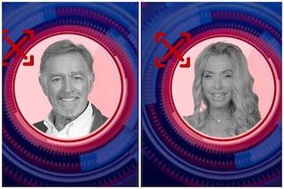 GFVip: Fabio Testi e Valeria Marini eliminati, nominate Antonella Elia, Fernanda Lessa e Licia Nunez