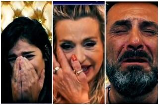 GF Vip: concorrenti in lacrime parlano con i cari, Valeria Marini fa pace con la madre dopo mesi