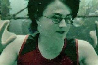 Curiosità Harry Potter Calice di fuoco: la troupe temette che Daniel Radcliffe stesse annegando