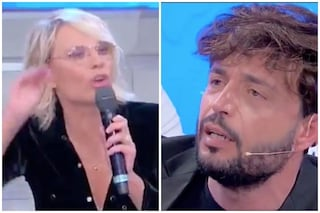"""Maria De Filippi contro Armando Incarnato del trono over: """"Smettila, tratti male tutte le donne"""""""