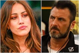 """GF Vip, esplode la lite tra Sossio Aruta e Teresanna Pugliese: """"Cafona"""", """"Tamarro"""""""