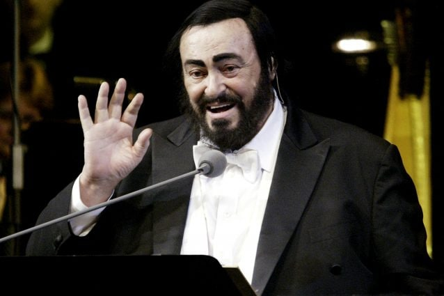 Pavarotti (foto Oleg Nikishin/Getty Images)