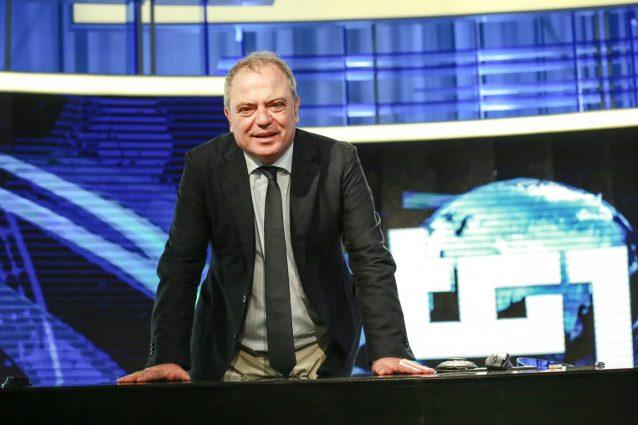 Il direttore del Tg1 Giuseppe Carboni