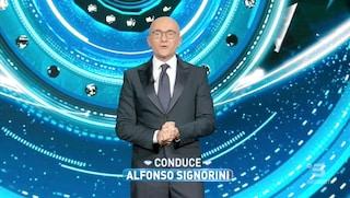 Alfonso Signorini ha vinto la sfida di condurre un reality con una pandemia in corso
