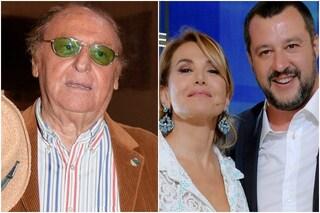 """Renzo Arbore: """"Mediaset fa robaccia. Punto più basso? Barbara D'Urso e Salvini con l'Eterno Riposo"""""""
