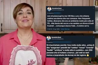 """""""Cessa, cretina, orrenda, schifosa"""", Benedetta Rossi insultata risponde: """"Bulli social e frustrati"""""""