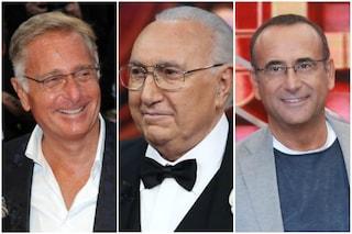 """Paolo Bonolis: """"Pippo Baudo si incaz**va con me a Luna Park"""", poi propone un programma a Carlo Conti"""